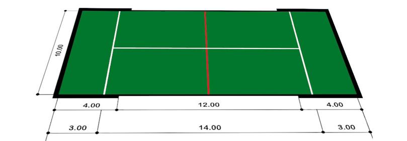 ¿Qué posición ocupar en la pista de pádel?